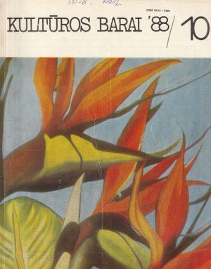 Kultūros barai, 1988/10