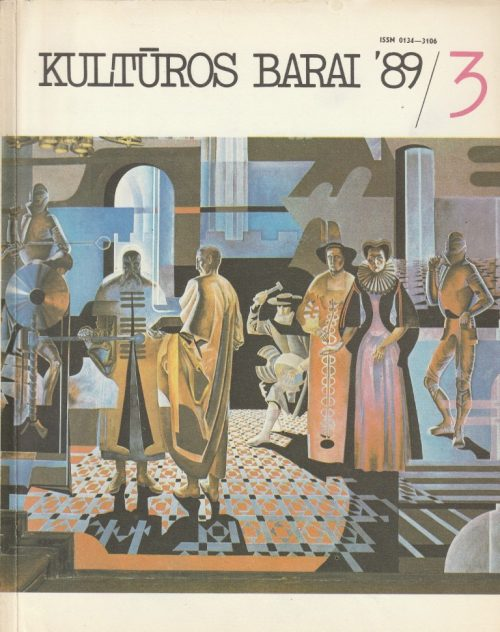 Kultūros barai, 1989/3