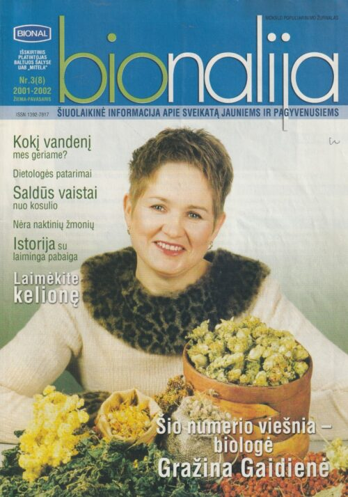 "Žurnalas ""Bionalija"", 2002/3"