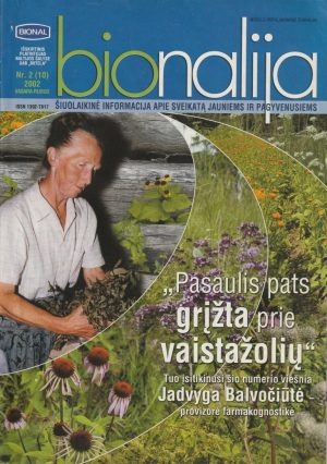 "Žurnalas ""Bionalija"", 2002/2"