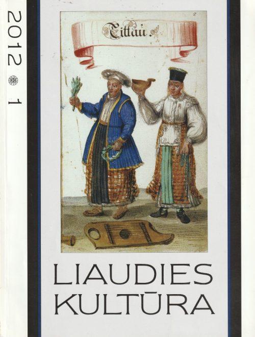 liaudies kultūra, 2012/1