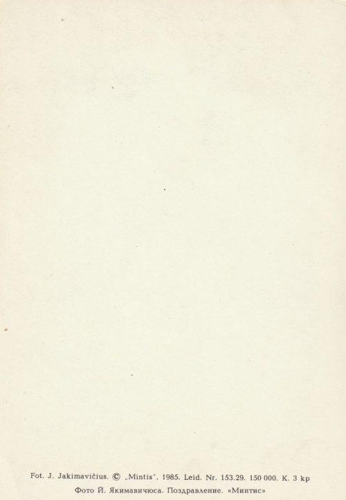 Atvirukas, 1985