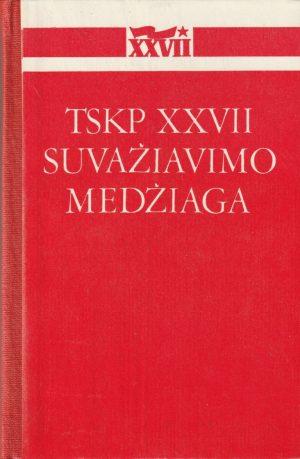 TSKP XXVII suvažiavimo medžiaga