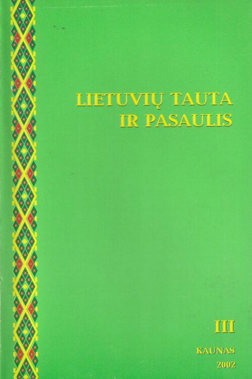 Lietuvių tauta ir pasaulis