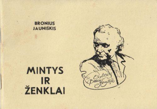 Jauniškis Bronius. Mintys ir ženklai