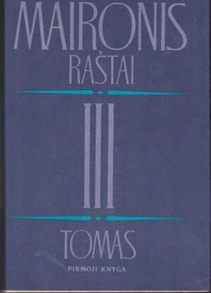 Maironis Raštai (III tomas) (1 knyga)