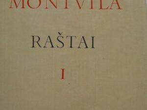 Montvila V. Raštai. T.1.