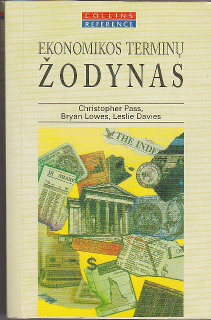 Pass Christopher. Ekonomikos terminų žodynas