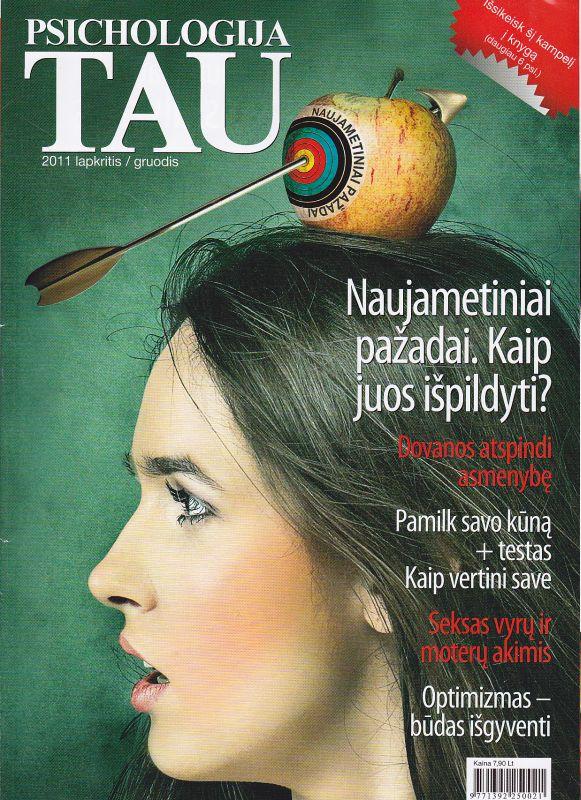"""""""Psichologija Tau"""", 2011 lapkritis/gruodis"""