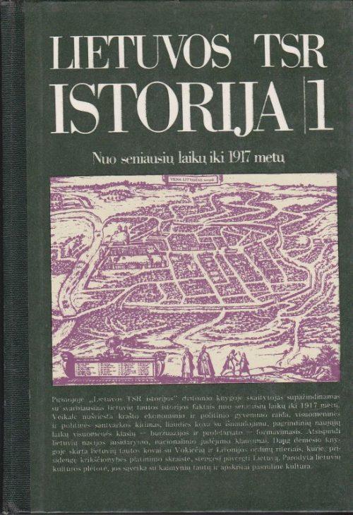 Vaitkevičius B. Lietuvos TSR istorija (I dalis)